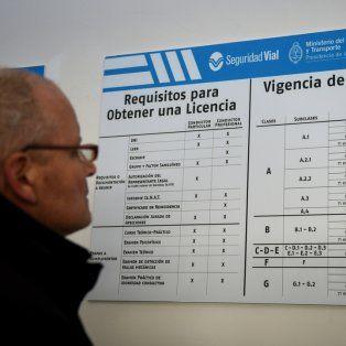 un proyecto de ley impulsa extender las licencias de conducir hasta 5 anos