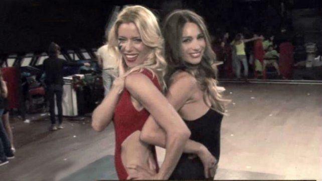 Pampita y Nicole, a los besos, dejaron atrás su enemistad