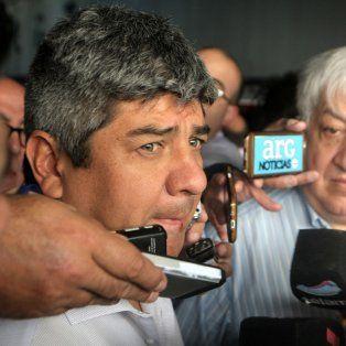 El titular de Camioneros, Pablo Moyano.