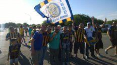 fiesta canalla en las calles de cordoba en la previa de la final de la copa argentina