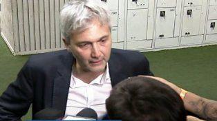 El vicepresidente canalla Carloni criticó con dureza al delantero Larrondo