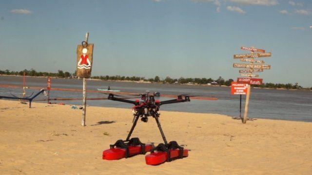 Con el drone salvavidas, Rosario está otra vez a la vanguardia en innovación
