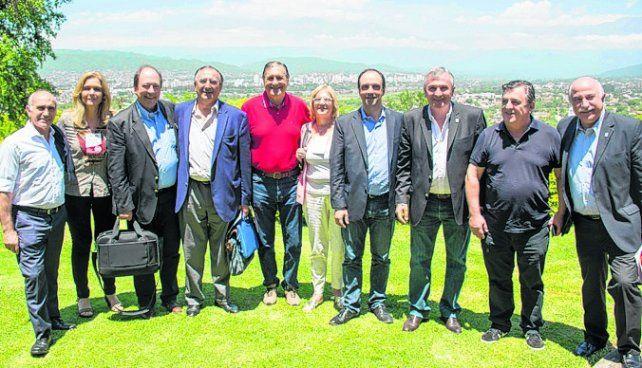 Cumbre en Jujuy. Las autoridades de la UCR