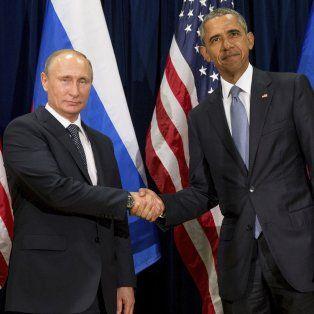 Cortocircuito. Frío encuentro de Obama y Putin en septiembre de 2015 en la sede de las Naciones Unidas.