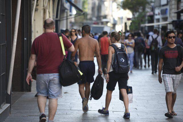 El calor apretará en la ciudad en la semana previa a las fiestas.