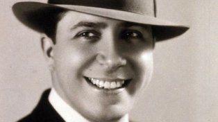 el mudo. Carlos Gardel