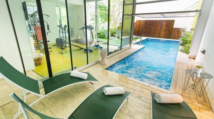 El spa es uno de los lugares más placenteros de Vitrum Hotel.