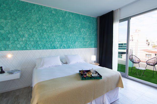 Diseño y confort en las habitaciones de Vitrum Hotel.