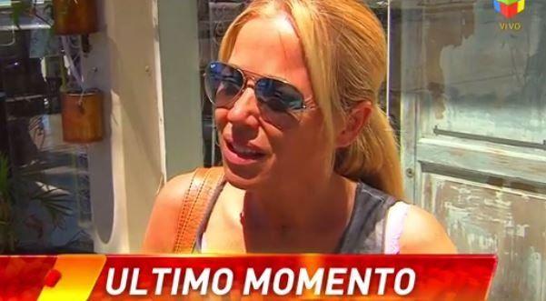 Verónica Vieyra fue entrevistada por Infama en Gualeguaychú.