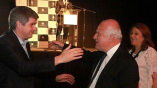 El gobernador Miguel Lifschitz se reunió ayer con el jefe de Gabinete