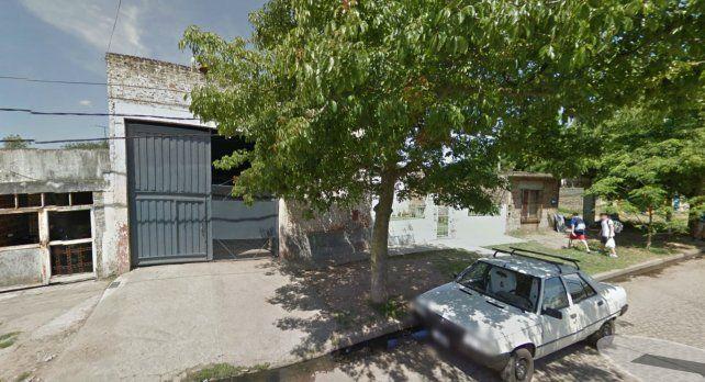 La fábrica de bicicletas ubicada en Felipé Moré 3636 que fue blanco de un asalto hoy.