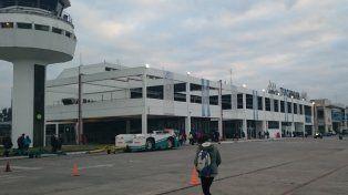 El aeropuerto Benjamín Matienzo