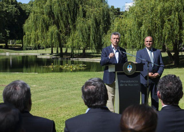 El presidente Mauricio Macri anunció la creación del Parque del Bicentenario en la provincia de Tucumán.