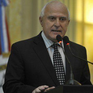 El gobernador defendió la actuación de los policías santafesinos.