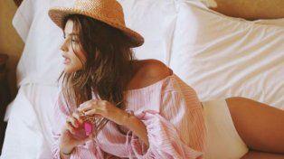 La bella actriz cautiva a sus seguidores con fotos en Instagram.