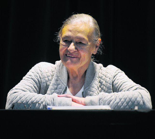 La investigadora argentina Emilia Ferreiro