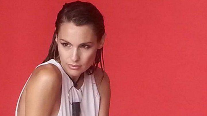Las poses sexys de Pampita que despidió el año del escándalo con una producción hot