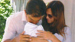 las primeras fotos de amalia granata y leo squarzon con su hijo roque