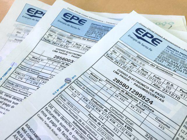 Las tarifas de la EPE aumentarán un 15 por ciento a partir del 1º de enero venidero.