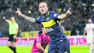 Goleador. Darío Benedetto marcó 9 goles con la camiseta xeneize en el semestre.