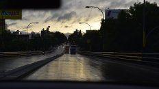 Rige un alerta por lluvias sobre la ciudad.