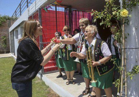 contacto personal. Vidal promoverá actividades culturales para los bonaerenses que no se van de vacaciones.