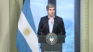 Peña: El presidente le pidió la renuncia a Prat Gay y decidió desdoblar el ministerio
