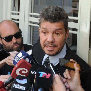 tinelli le reclamo al gobierno que pague la rescision del contrato de futbol para todos