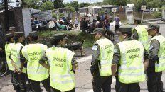 incidentes y represion en pergamino tras los reclamos de ayuda por las inundaciones