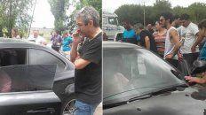 Ricardo y Chino Darín se quedaron varados en la provincia por el mal tiempo.