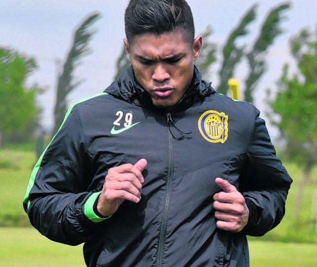 Colombiano. Teo Gutiérrez dejó en claro que quiere emigrar de Arroyito.