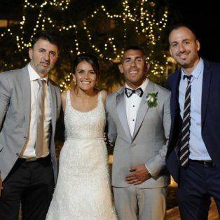 Carlitos y Vanesa celebraron su boda en uruguay que duró cuatro días.