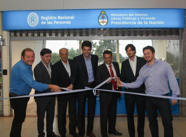La nueva oficina fue inaugurada hoy en el aeropuerto.