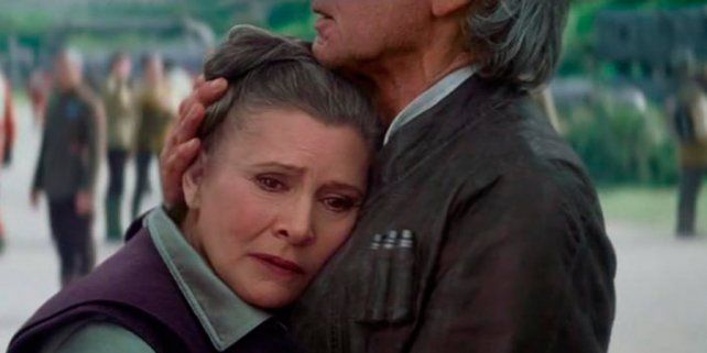 Murió Carrie Fisher, la actriz que interpretó a la Princesa Leia de Star Wars