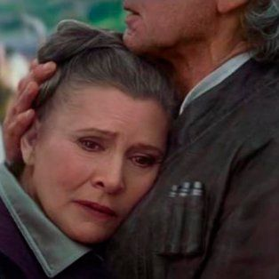 murio carrie fisher, la actriz que interpreto a la princesa leia de star wars