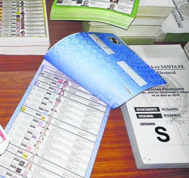 Los cargos locales se votarán con la boleta única. (Fotos de archivo)