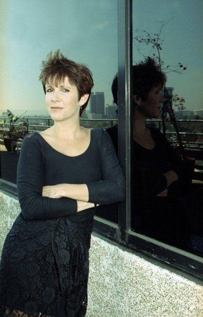 En su casa en Beverly Hills en 1990.