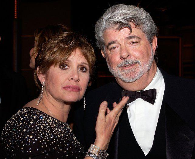 En 2005 con el director y creador de Star Wars