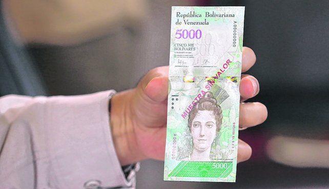 inhallable. El nuevo billete de 500 bolívares