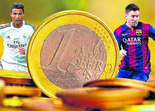 Cristiano Ronaldo y Lionel Messi. Las dos megaestrellas del fútbol