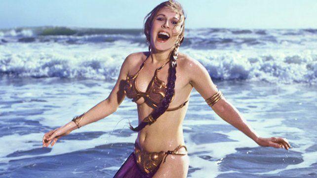 Las historias de Carrie Fisher, una princesa adorada que no tuvo suerte en el amor
