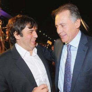 Los empresarios K Fabián de Sousa y Cristóbal López.