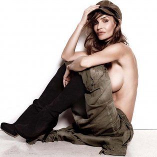 siempre vigente, maria vazquez poso casi desnuda y conto su nuevo proyecto