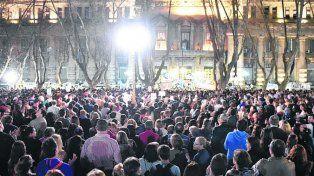 Hito. El 25 de agosto miles de rosarinos reclamaron seguridad y justicia.