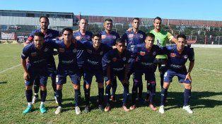 Los charrúas. El equipo que jugó ante Sacahispas (1-1) por el torneo de la Primera C.