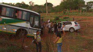 La colisión fue frontal y el político del PTB murió en el acto.