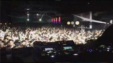 los videos que publico el dj de la tragica fiesta electronica de arroyo seco