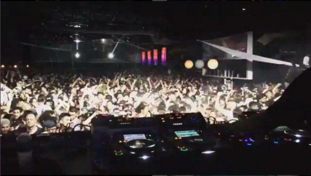Los videos que publicó el DJ de la trágica fiesta electrónica de Arroyo Seco
