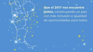El mapa argentino que no incluye las Islas Malvinas y despertó las críticas y el repudio.