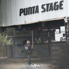 La policía trabaja en Punta Stage, a las órdenes de la Fiscalía.